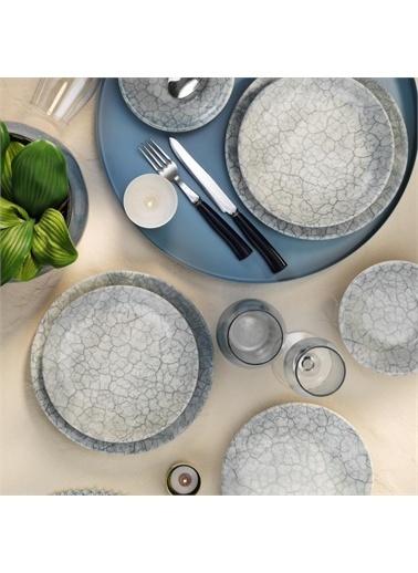 Kütahya Porselen Kütahya Porselen Teos 24 Parça Yemek Takımı RF Nano Renkli